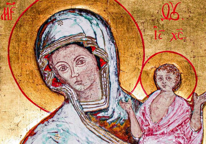 Madonna con bambino – Icona Russa